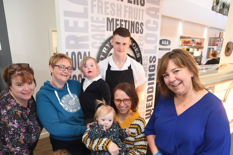 Flipping good start for Down Syndrome charity